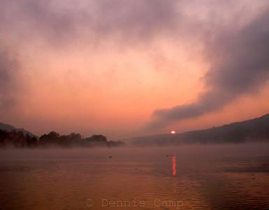 River Fog Morning