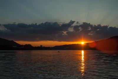 Bursting Sunrise Over Northern Kentucky
