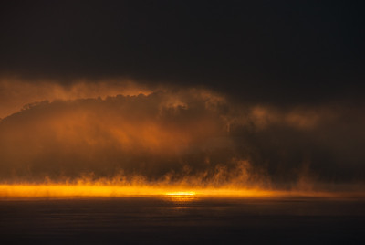 Ohio River Sun Spots