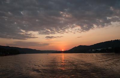 Sunset Cruise Ohio River