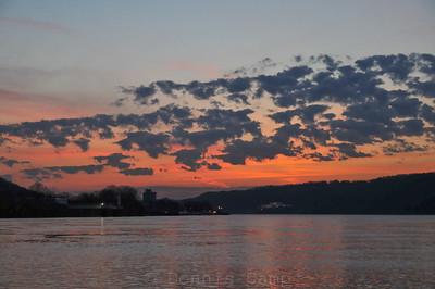 Pop Corn Clouds Sunrise