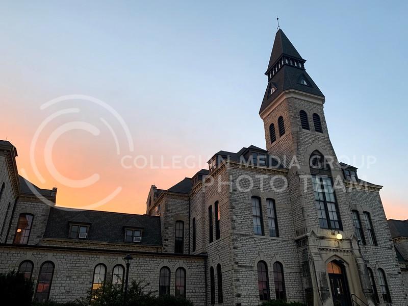 Anderson Hall at sunset (Benjamin Voller | Collegian Media Group)