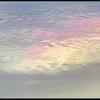 Iriserende Wolk/Iridescent clouds