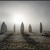 Stonehenge van boten/Stonehenge of boats