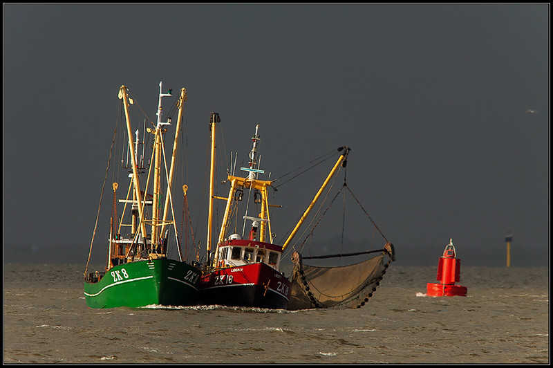 Vissersboten/Fishing boats