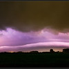 Weerlicht-rolwolk/Lightning-rollcloud