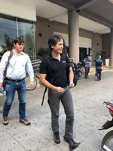Our guide, Ricardo Peña
