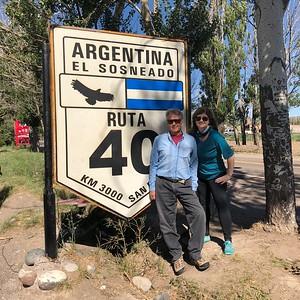Angie with Eduardo Strauch