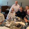 Jim Rogers, owner/executive chef, visits with Andover officials, from left, Tom Carbone, Ann Ormond, Alex Vispoli, Mary Markey and Chris Clemente, all of Andover