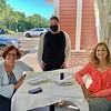 From left, Lynn Nalewanski of West Newbury, Marisa Guzman-Gagne of Lowell and Cheryl Burbank of Wilmington