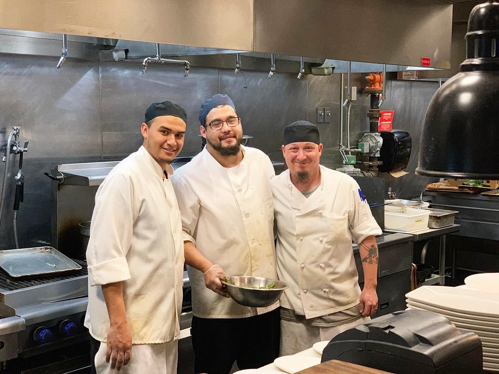 . Andiamo�s talented chefs
