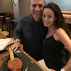 Andiamo's owner and Executive Chef Jim Rogers and his beautiful wife, Patricia Collins
