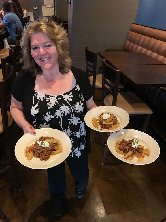 . Andiamo�s Mary Welch of Winchester dishes out The Z-LIST�s favorite, Spring Lamb Ragout, Ricotta & Mint