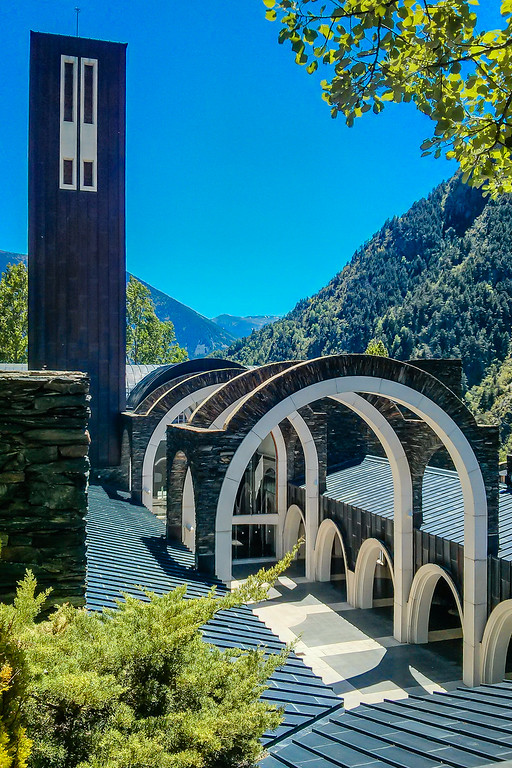 Sanctuary of Our Lady Meritxell, Andorra