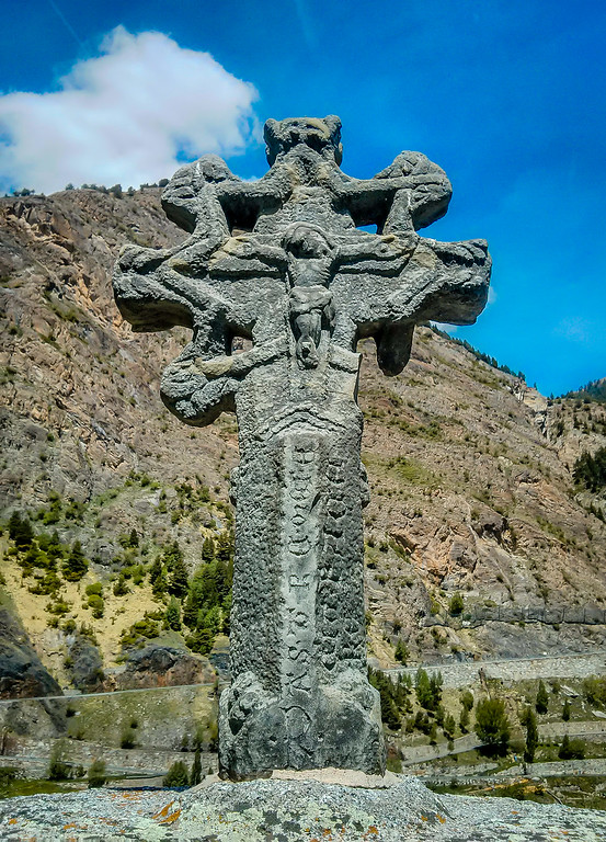 Cross of Seven Arms in Prats Andorra