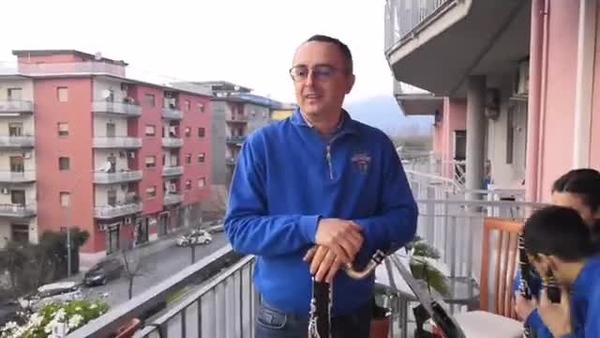 """Marcello Bruni era in diretta in Banda Musicale """"Don Bosco"""" città di Cassino"""