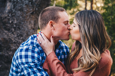 Andre + Nicole's Idyllwild Cabin Proposal