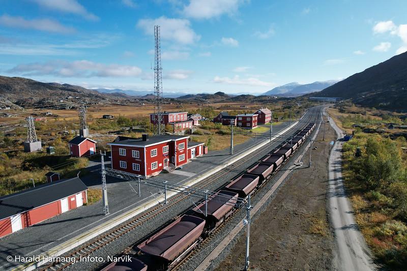Bjørnfjell stasjon, Ofotbanen