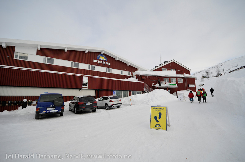 Riksgränsen, turistanlegg og skisportssted.