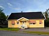 Kiruna, sommer 2008. Bolighus.