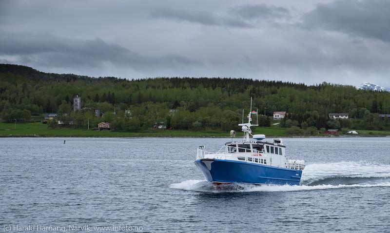 MS Sjøsprint. 11. juli 2018