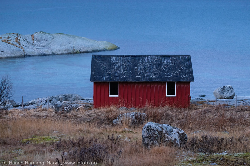 Naust ved Skarstad