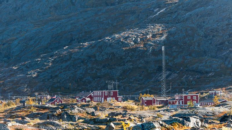 Bjørnfjell stasjon.
