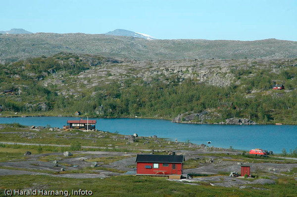 Hytter på Bjørnfjell