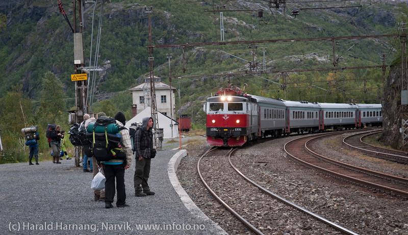 Katterat stasjon på Ofotbanen