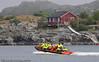 Lofoten sommer 2008. Sjørafting.