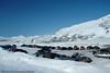 Bjørnfjell, Parkeringsplass for hytteeiere på Bjørnfjell