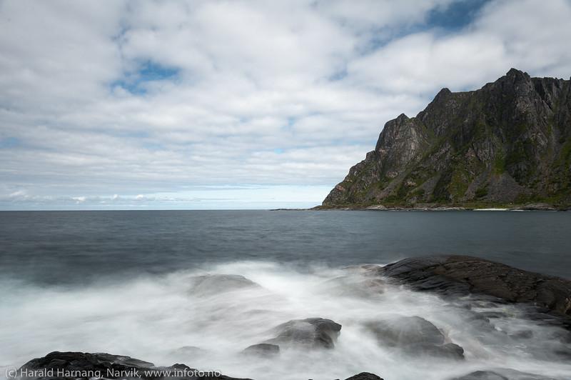 Andøya, i nærheten av Nordmela på yttersiden.
