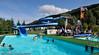 Ballangen Campingplass, oppvarmet badebasseng.