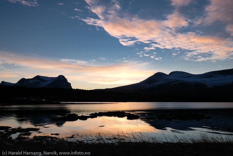 Efjord, mørketid