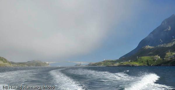 Lofoten sommer 2008. Kåkern bru ved Sund.