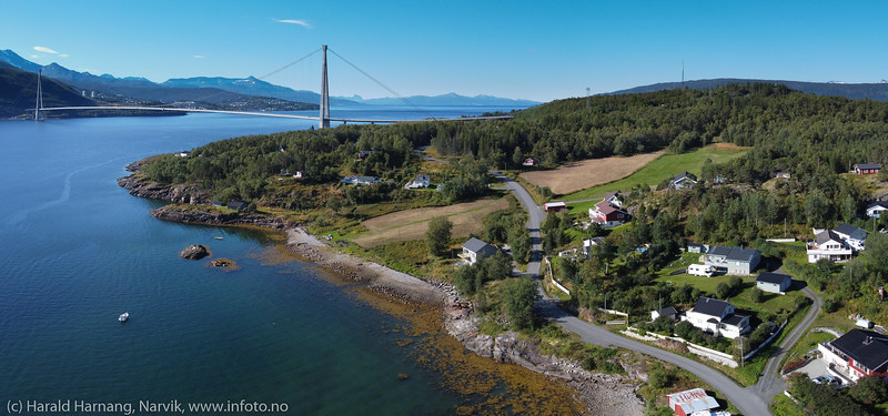 Øyjord, hyttebebyggelse og fastboende, 3. sept 2020