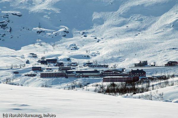 Lapplandia turistanlegg på Svensk side
