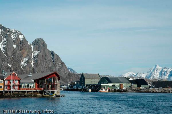 Svolvær i Lofoten