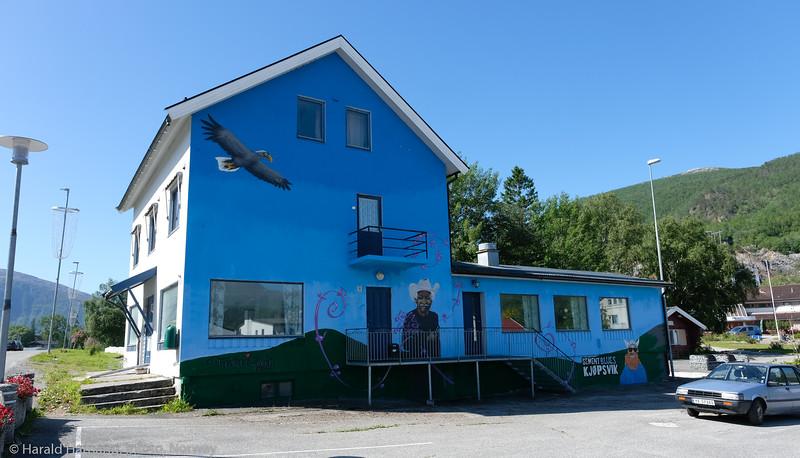 Kjøpsvik, juli 2021