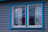 Norsk-svensk hytte ytterst på Skarstad