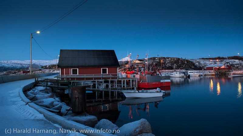 Skarstad, Efjord. 18. januar 2014.