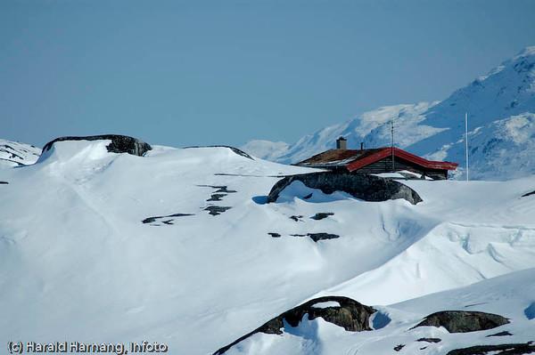 Bjørnfjell, hytte