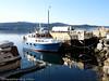 Hurtigbåt fra Kjeldebotn til Liland, MS Sjøsprint. Her ved kai i Kjedebotn.