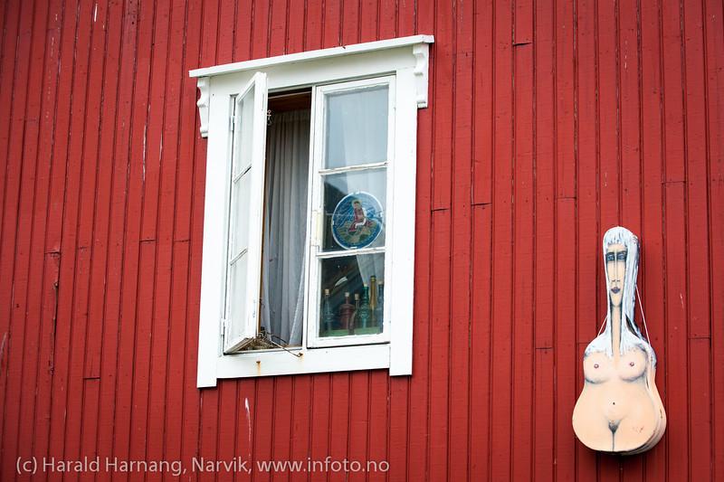 Lofoten juni 2013. Stamsund. Kunstnerens hus.
