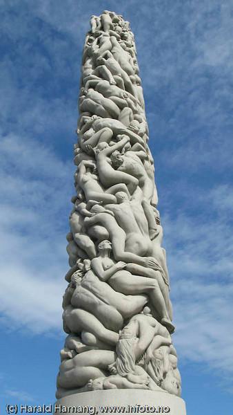 Monolitten, Vigelandsparken, Oslo