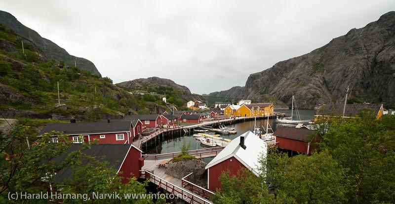 Nusfjord. Lofoten, juni 2013.