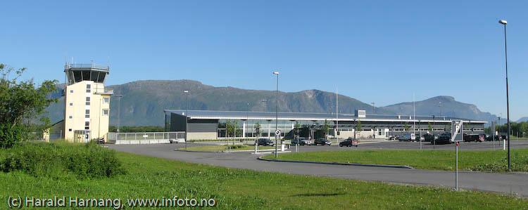 Brønnøysund Lufthavn, juni09