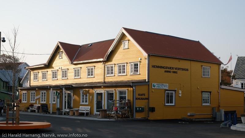 Henningsvær, Loften