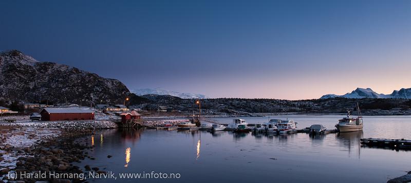 Skarstad, Efjord. Januar 2014.