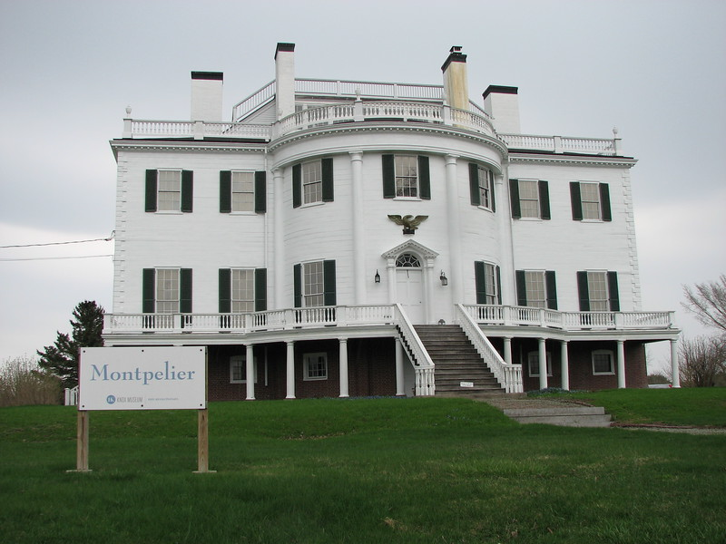 The reconstructed home of Gen. Knox